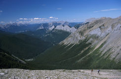 Sulphur Skyline hike Stock Image
