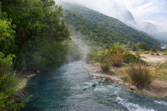 The sulphur spring Stock Photo