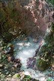 Sulphur Springs in Dominica Royalty Free Stock Photos