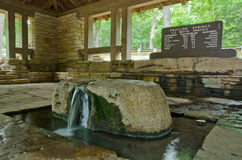 Sulphur Springs, Oklahoma Pavilion Springs Royalty Free Stock Photo