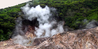 Sulphur Springs - Saint Lucia Stock Photography