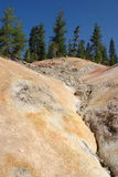 Sulphur Works. Sulpher Works in Lassen Volcanic National Park royalty free stock photography