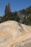 Sulphur Works. Sulpher Works in Lassen Volcanic National Park Stock Image