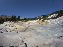 Sulphur Works, Lassen Volcanic National Park Royalty Free Stock Photography