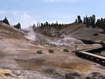 Sulphur Works, Lassen Volcanic National Park Stock Photo