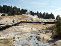 Sulphur Works, Lassen Volcanic National Park Stock Image