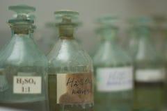 Sulphuric acid Stock Images