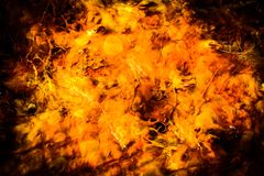 Sulphuric & Acidic water hot spring Yellowstone Stock Photo