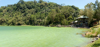 Sulphurous lake - Danau Linow Stock Photography