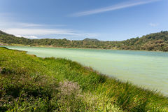 Sulphurous lake - Danau Linow Royalty Free Stock Photo