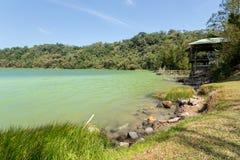 Sulphurous lake - Danau Linow Stock Image