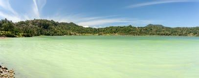 Sulphurous lake - Danau Linow Royalty Free Stock Photography