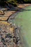 Sulphurous lake - danau linow indonesia Stock Image