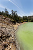 Sulphurous lake - danau linow indonesia Stock Images