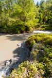 Sulphurous lakes near Manado, Indonesia Stock Images
