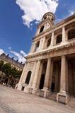 Sulpice świątobliwy Kościół Zdjęcia Royalty Free