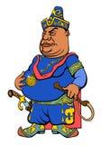 Sultão do asiático dos desenhos animados Fotos de Stock Royalty Free