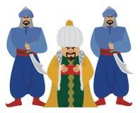 sultan Royaltyfria Foton