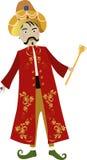 sultan stock illustrationer