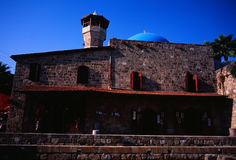 Sultan Abdul Majid Mosque, Byblos, Lebanon. Royalty Free Stock Photos