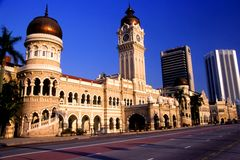 Sultan Abdul Samad Building Stock Images
