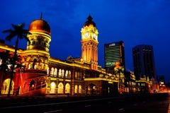 Sultan Abdul Samad Building royalty-vrije stock afbeeldingen