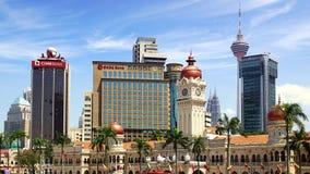 Sultan Abdul Samad Building. Royaltyfri Foto