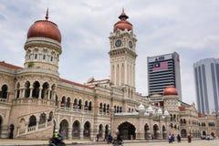 Sultan Abdul Samad Building al quadrato di Merdeka Immagine Stock