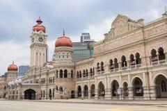 Sultan Abdul Samad Building al quadrato di Merdeka Fotografia Stock Libera da Diritti