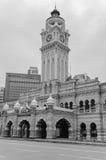 Sultan Abdul Samad Building em Kuala Lumpur fotografia de stock
