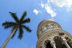 Sultan Abdul Samad Building en Kuala Lumpur Malaysia Fotos de archivo libres de regalías
