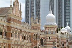 Sultan Abdul Samad Building, Kuala Lumpur.  Stock Images