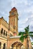 Sultan Abdul Samad Building in Kuala Lumpur Costruito nel 1897, ora alloggia gli uffici del ministero di informazioni malaysia Immagini Stock Libere da Diritti