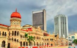 Sultan Abdul Samad Building in Kuala Lumpur Costruito nel 1897, ora alloggia gli uffici del ministero di informazioni malaysia Immagini Stock