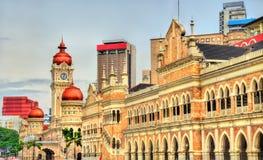 Sultan Abdul Samad Building in Kuala Lumpur Costruito nel 1897, ora alloggia gli uffici del ministero di informazioni malaysia Fotografia Stock Libera da Diritti