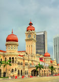 Sultan Abdul Samad Building in Kuala Lumpur Costruito nel 1897, ora alloggia gli uffici del ministero di informazioni malaysia Fotografie Stock