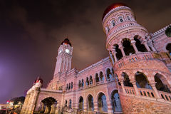 30/04/17 Sultan Abdul Samad Building, Kuala Lumpur, Malaisie Ni Images stock