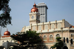The Sultan Abdul Samad Building Royalty Free Stock Photo