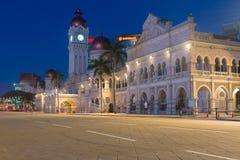 Sultan Abdul Samad Building in Kuala Lumpur, Malesia fotografie stock libere da diritti