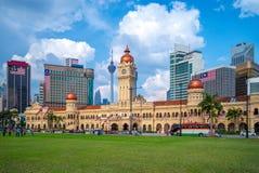Sultan Abdul Samad Building in Kuala Lumpur, Malesia fotografia stock libera da diritti