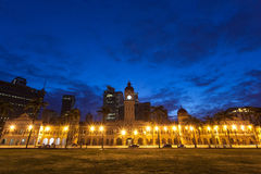 The Sultan Abdul Samad building Royalty Free Stock Image