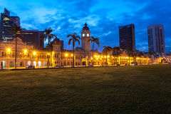 The Sultan Abdul Samad building Royalty Free Stock Images