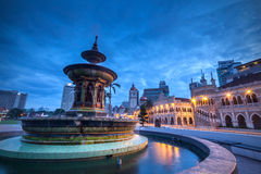 The Sultan Abdul Samad building Stock Photo