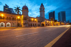 The Sultan Abdul Samad building Stock Photography