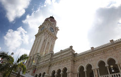 Sultan Abdul Samad Building located in front of the Dataran Merdeka Royalty Free Stock Photos