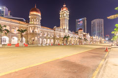The Sultan Abdul Samad building is located in front of the Merdeka Square in Jalan Raja, Kuala Lumpur, Malaysia. Royalty Free Stock Images