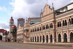 Sultan Abdul Samad Building Malaysia Arkivbild