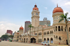 Sultan Abdul Samad-de bouw, Kuala Lumpur Stock Afbeelding