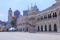 Iconic architecture Sultan Abdul Samad Kuala Lumpur  Stock Photo