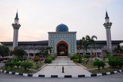 Sultan Abdul Samad Mosque (KLIA-moské) Royaltyfri Fotografi